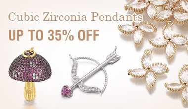 Cubic Zirconia Pendants 