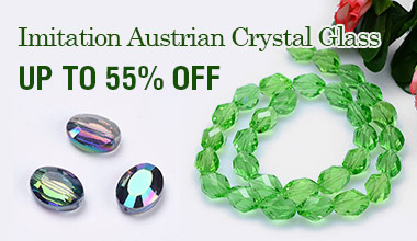 Imitation Austrian Crystal Glass 