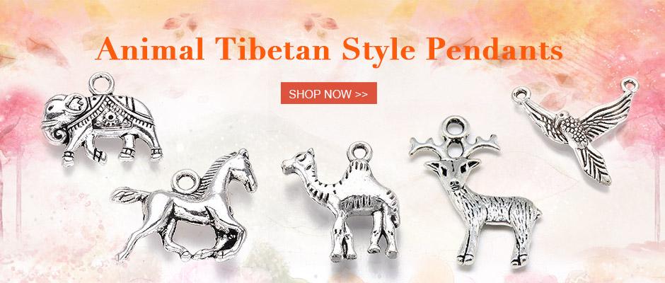 Animal Tibetan Style Pendants Shop Now