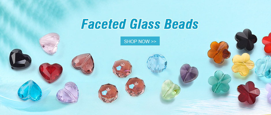 Faceted Glass Beads Shop Now