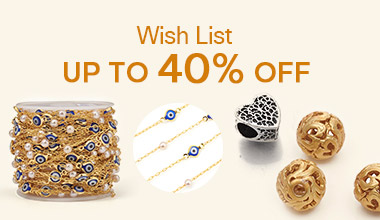 Wish List Up to 40% OFF