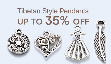 Tibetan Style Pendants Up to 35% OFF