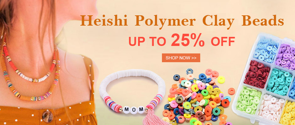 Heishi Polymer Clay Beads Up to 25% OFF Shop Now