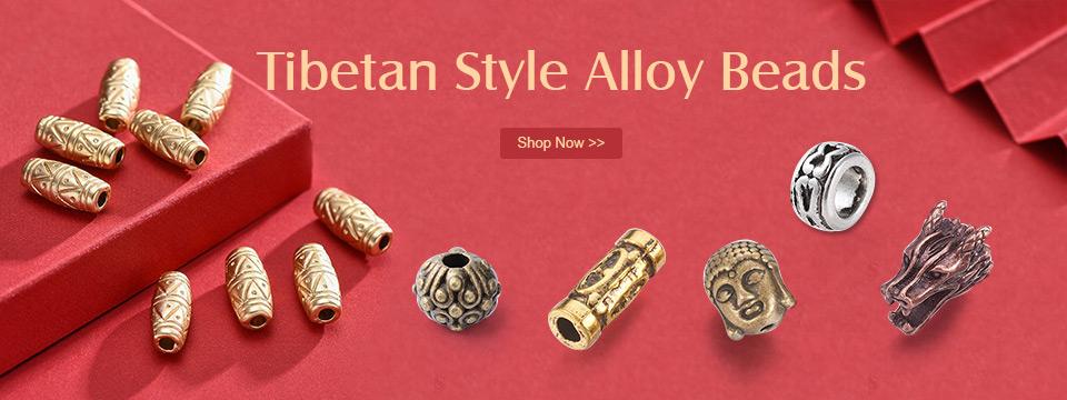 Tibetan Style Alloy Beads