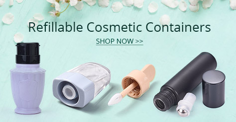 Refillable Cosmetic Containers