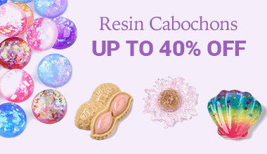 Resin Cabochons Up to 40% OFF