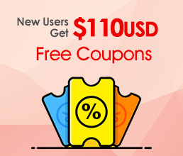 Free $110 Coupons