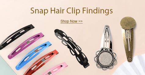 Snap Hair Clip Findings
