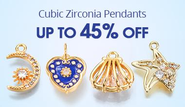 Cubic Zirconia Pendants Up to 45% OFF