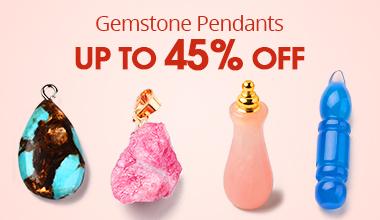 Gemstone Pendants Up to 45% OFF
