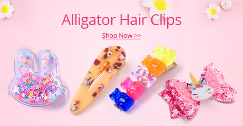 Alligator Hair Clips