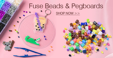Fuse Beads & Pegboards