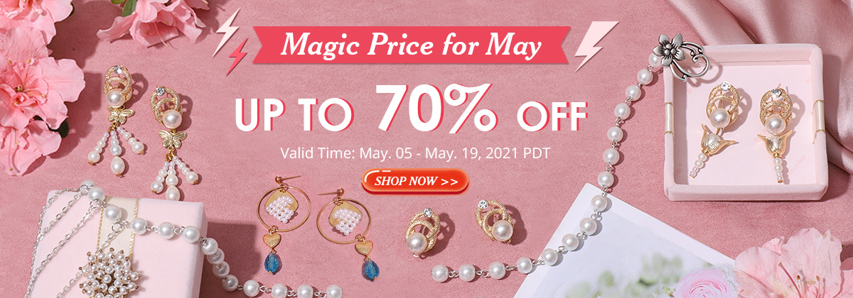 Magic Price for May Up to 70% OFF Valid Time: May. 05 - May. 19, 2021 PDT Shop Now>>