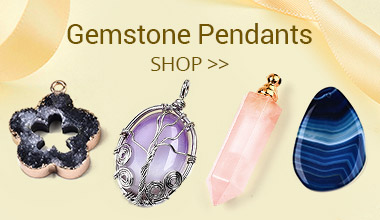 Gemstone Pendants Shop>>