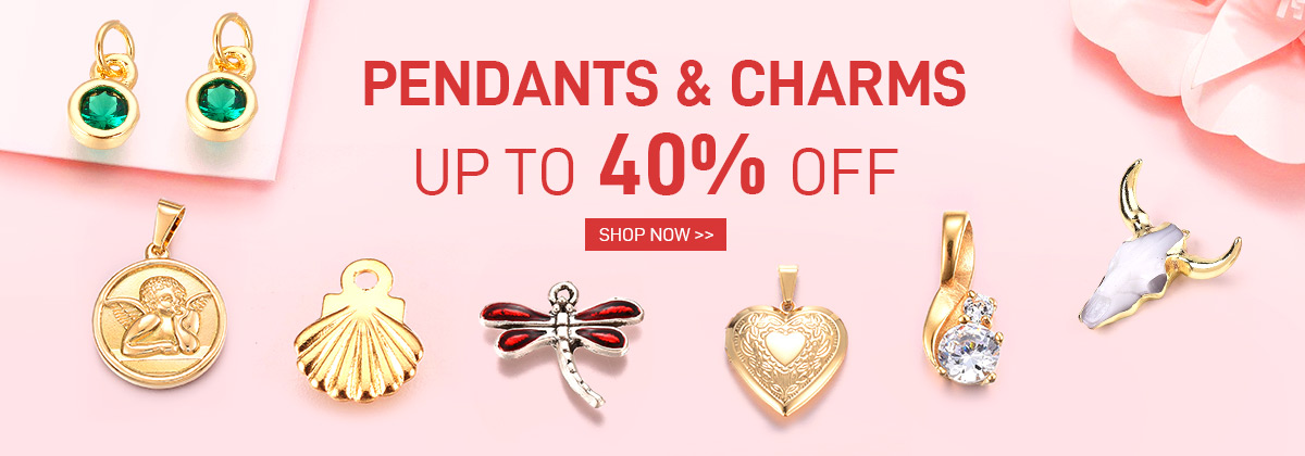 Pendants & Charms Up to 40% OFF