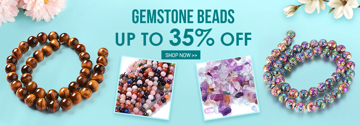 Gemstone Beads Up to 35% OFF