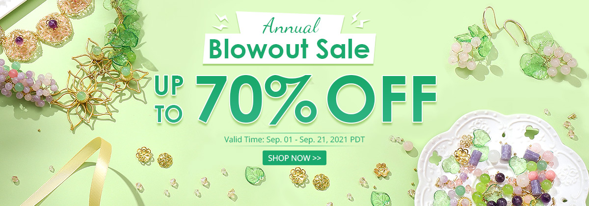 Annual  Blowout Sale  Up to 70% OFF