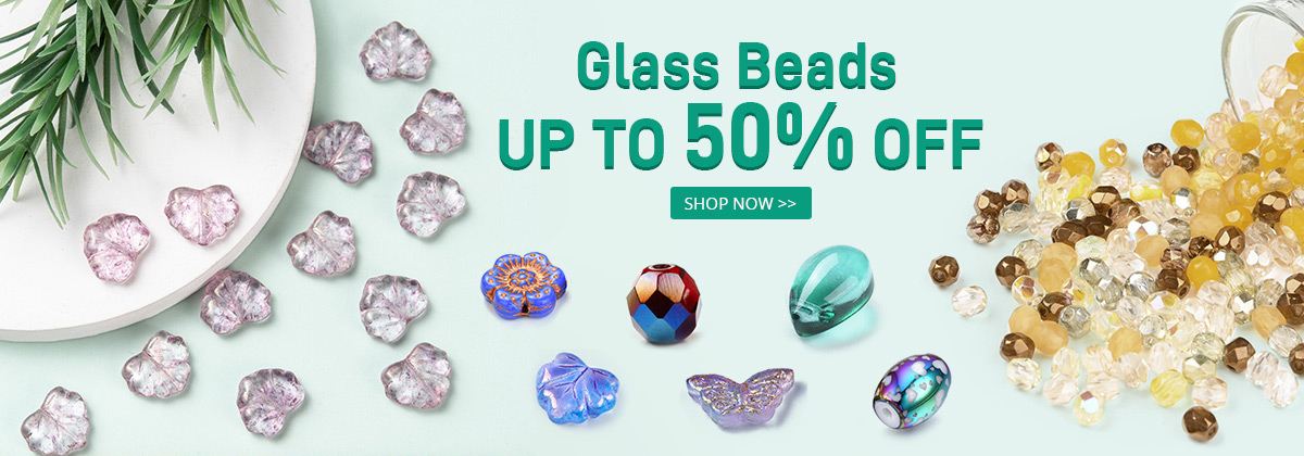 Glass Beads Up to50% OFF
