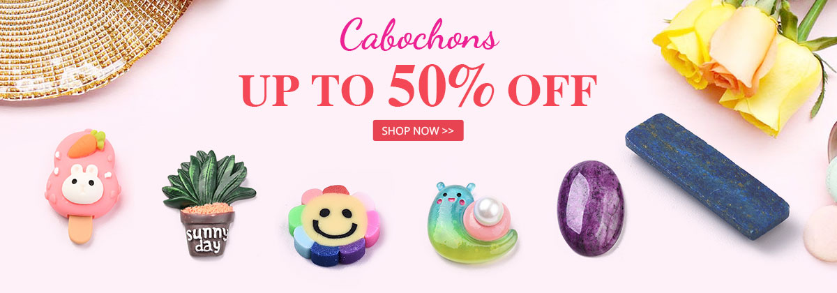 Cabochons Up to 50% OFF