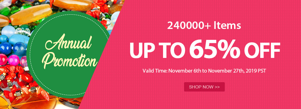 Annual Promotion 240000+ Items Up to 65% OFF