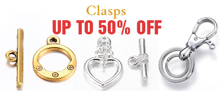 Clasps Up to 50% OFF