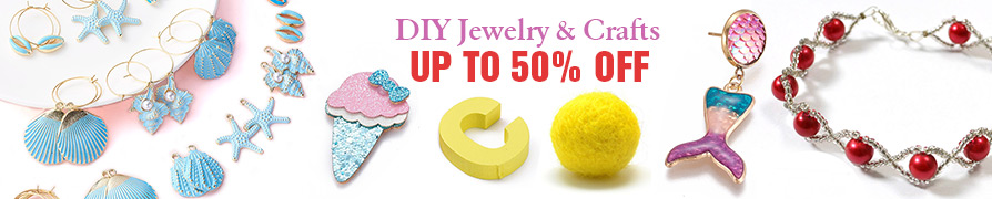 DIY Jewelry & Crafts Up to 50% OFF