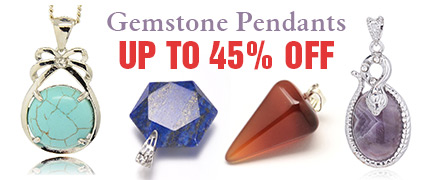 Gemstone Pendants Up to 45% OFF
