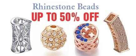 Rhinestone Beads Up to 50% OFF
