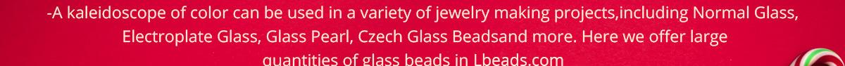 New Year Beads-Glass Beads