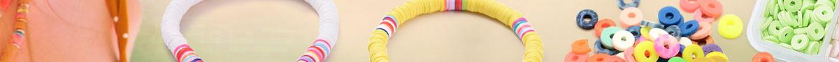 Handmade Heishi Polymer Clay Beads