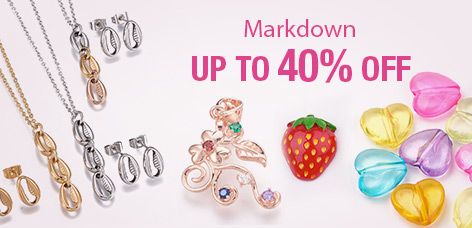 Markdown Up to 40% OFF