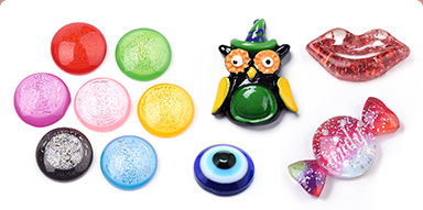Resin Cabochons