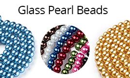 Glass Pearl Beads