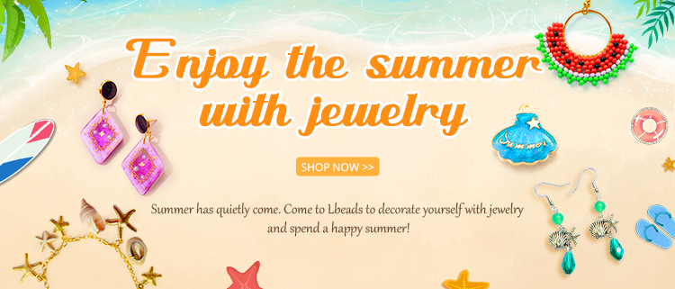 Enjoy the summer with jewelry